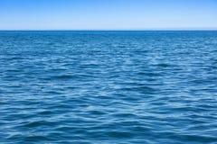 Vista do Oceano Atlântico azul profundo Foto de Stock