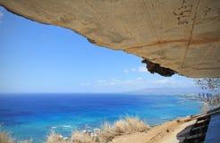 A vista do oceano da vigia principal do diamante fotografia de stock