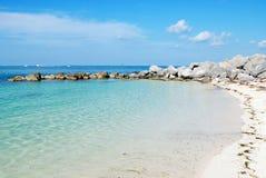 Vista do oceano de Florida foto de stock royalty free