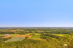 Vista do olhar do parque de Blomidon fora imagem de stock