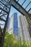 Vista de Grant Park (Chicago) Imagens de Stock