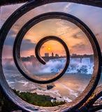 Vista do parque de Niagara Falls Foto de Stock