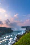 Vista do parque de Niagara Falls Fotografia de Stock Royalty Free