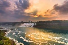 Vista do parque de Niagara Falls Foto de Stock Royalty Free
