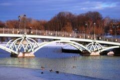 Vista do parque de Tsaritsyno em Moscou Foto de Stock Royalty Free