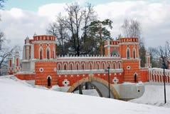 Vista do parque de Tsaritsyno em Moscou Imagens de Stock