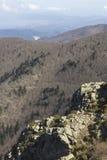 Vista do parque nacional de Montseny, Catalonia Foto de Stock