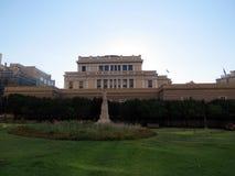Vista do parque no parlamento fotos de stock