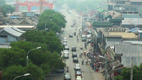 Vista do Pequim vídeos de arquivo