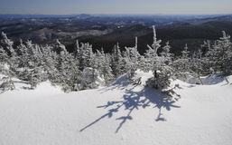 Vista do pico de Killington do th, Vermont Imagens de Stock Royalty Free