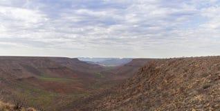 Vista do platô de Grootberg Imagem de Stock