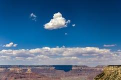 Vista do ponto a Grand Canyon, sombra de Maricopa das nuvens o Imagens de Stock