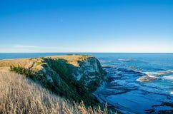 Vista do ponto Kean Viewpoint, Kaikoura Nova Zelândia foto de stock