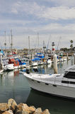 Vista do porto Fotos de Stock