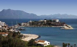 Vista do porto de Datca, Turquia Imagem de Stock Royalty Free
