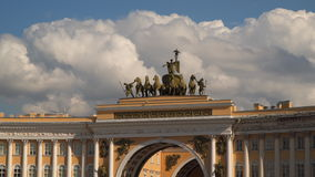 Vista do quadrado do palácio no arco do estado maior geral filme