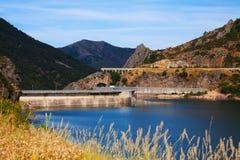 Vista do reservatório do de Luna dos bairros Foto de Stock Royalty Free
