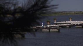 Vista do rio vídeos de arquivo