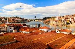 Vista do rio de Douro imagens de stock royalty free
