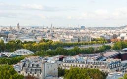 Vista do rio de Seine Foto de Stock