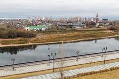 Vista do rio Tura Fotografia de Stock