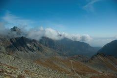 Vista do Saddleback 2 de Koprovsky Foto de Stock Royalty Free