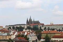 Vista do St Vitus Cathedral Imagem de Stock