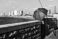 Vista do telefone Aviv Promenade Telavive, Israel fotografia de stock royalty free