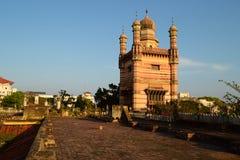 Vista do telhado do palácio de Chepauk Foto de Stock