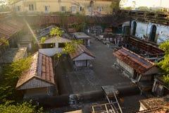 Vista do telhado do palácio de Chepauk em Chennai Imagens de Stock