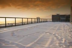 Vista do terraço fotografia de stock royalty free