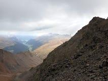 Vista do vale Imagem de Stock
