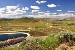 Vista do vale Foto de Stock Royalty Free