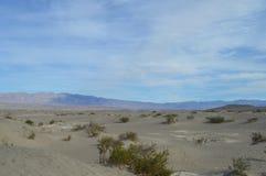 Vista do Vale da Morte Foto de Stock
