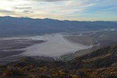 Vista do Vale da Morte Foto de Stock Royalty Free