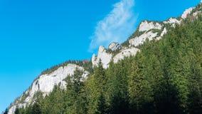 Vista do vale de Koscielisko em Tatras polonês Fotos de Stock Royalty Free
