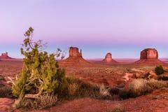 Vista do vale do monumento Imagens de Stock