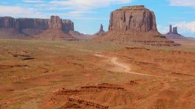 Vista do vale do monumento Imagem de Stock