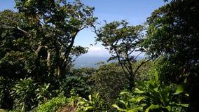 Vista do vulcão de Mombacho imagens de stock royalty free