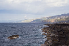 Vista do vulcão Teide em Tenerife, Espanha Imagens de Stock Royalty Free
