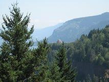 Vista dom od Chanticleer punktu Zdjęcie Royalty Free