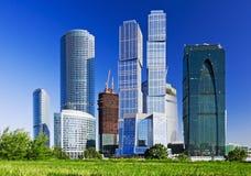 Vista dos arranha-céus Imagem de Stock Royalty Free