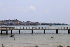 Vista dos barcos de pesca Imagens de Stock