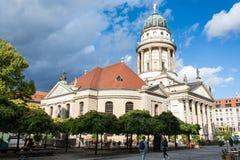 Vista dos DOM franceses de Franzosischer da catedral Imagens de Stock Royalty Free