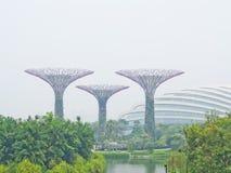 Vista dos jardins pela baía Imagens de Stock Royalty Free