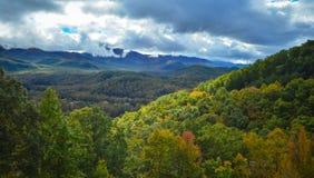 Vista dos montes de Cosby fotografia de stock royalty free