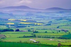 A vista dos montes de Simonside Fotografia de Stock Royalty Free