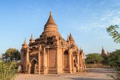 Vista dos pagodes em Bagan Fotografia de Stock Royalty Free