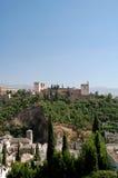 Vista dos palácios do La Alha foto de stock royalty free