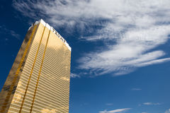 Vista dramática do hotel internacional do trunfo Fotos de Stock